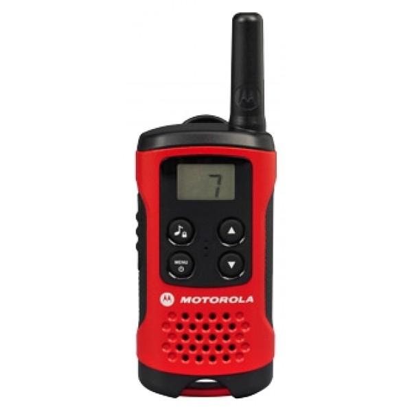 Радиостанция Motorola TLKR T40Простые, компактные и удобные рации для всей семьи. Вы можете пользоваться ими в магазине, на пляже или просто в саду — TLKR T40 идеально подходят для поддержания связи между членами вашей семьи на отдыхе.<br><br>Вес кг: 0.08000000