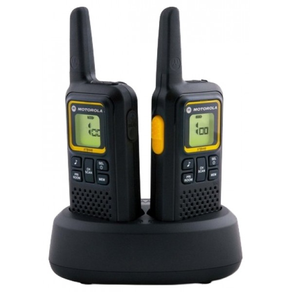 Радиостанция Motorola XTB446MOTOROLA XTB 446 - удобная, универсальная и расширяемая радиостанция обеспечит вам доступ ко всем преимуществам надежной связи без затрат или трудностей, связанных с приобретением лицензии. Вы можете в любой момент расширить число используемых радиостанций, а кроме того, модель XTB446 может использоваться совместно с радиостанциями Motorola PMR446. Радиостанция XTB446 характеризуется легкостью, удобством и простотой в использовании. Она обеспечивает превосходную слышимость и четкую связь в различных условиях.<br><br>Вес кг: 0.20000000