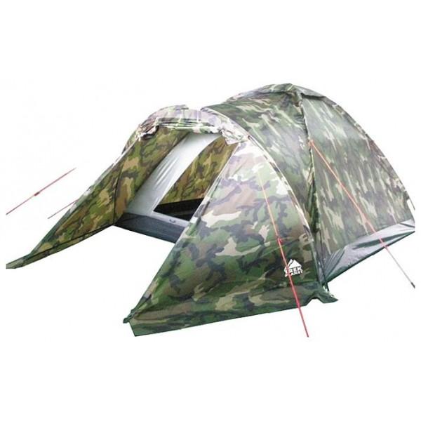 Палатка Trek Planet Forester 3 трекинговаятрекинговая палатка, 3-местная, однослойная, внешний каркас, дуги из стеклопластика, один вход / одна комната, невысокая водостойкость<br><br>Вес кг: 3.00000000