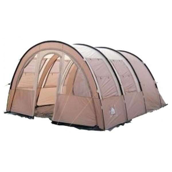 Палатка Trek Planet Vario 4 кемпинговаякемпинговая палатка, 4-местная, внешний каркас, дуги из стеклопластика, 2 входа / 2 комнаты, высокая водостойкость, вес: 12 кг<br><br>Вес кг: 12.10000000