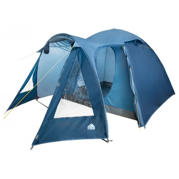 Палатка Trek Planet Tahoe 5 кемпинговаяПросторная пятиместная двухслойная кемпинговая палатка Tahoe 5 подходит для длительного отдыха на природе и выездов на выходные загород. В просторном тамбуре вы легко разместите все необходимые вещи и разметитесь во время дождя. Благодаря двум вентиляционным окнам палатка отлично проветривается, москитная сетка на входе в палатку избавит вас от насекомых.<br><br><br>Простая и быстрая установка,<br><br>Тент палатки из полиэстера с пропиткой PU водостойкостью 2000мм, надежно защитит от дождя и ветра,<br><br>Все швы проклеены,<br><br>Просторный и высокий тамбур с двумя входами,<br><br>Большие обзорные окна со шторками в тамбуре,<br><br>Два больших вентиляционных окна,<br><br>Каркас выполнен из прочного стеклопластика,<br><br>Дно из прочного водонепроницаемого армированного полиэтилена позволяет устанавливать палатку на жесткой траве, песчаной поверхности, глине и т.д.,<br><br>Внутренняя палатка, выполненная из дышащего полиэстера, обеспечивает вентиляцию помещения и позволяет конденсату испаряться, не проникая внутрь палатки,<br><br>Удобная D-образная дверь на входе во внутреннюю палатку,<br><br>Москитная сетка на входе в спальное отделение в полный размер двери,<br><br>Внутренние карманы для мелочей,<br><br>Возможность подвески фонаря в палатке,<br><br>Палатка упакована в сумку-чехол с ручками, застегивающуюся на застежку-молнию.<br><br>Вес кг: 7.80000000