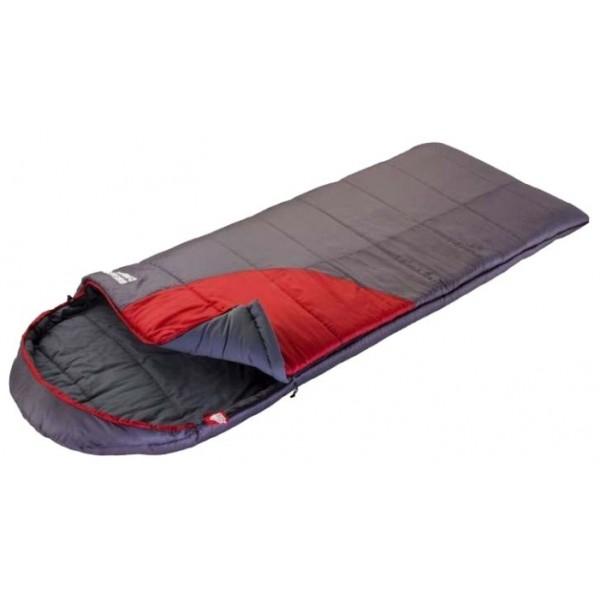 Спальный мешок Trek Planet Dreamer ComfortОчень теплый, комфортный и просторный 3-х сезонный спальник-одеяло с капюшоном Trek Planet Dreamer Comfort. Его отличительная особенность - натуральная внутренняя ткань поликоттон: прекрасно дышит и дает приятные ощущения во время сна. Спальник прекрасно подойдет для походов и отдыха на природе в холодные дни весенне-осеннего периода, в том числе при низких температурах. Большой и уютный капюшон обеспечивает повышеный комфорт и тепло в холодную погоду. К несомненным достоинствам спальника можно отнести размер: спальник подходит даже для очень крупных туристов. Утеплен двумя слоями супер техничного 7-канального волокна Hollow Fiber. Самый удобный, комфортный и теплый спальник-одеяло для кемпинга!<br><br><br>Теплый капюшон с затягивающейся шнуровкой по периметру,<br><br>Увеличенная ширина спальника,<br><br>7-канальный наполнитель Hollow Fiber,<br><br>Внешний материал: 190T полиэстер/полиэстер RipStop,<br><br>Внутренний материал - мягкий поликоттон,<br><br>Дополнительная плечевая затягивающаяся шнуровка,<br><br>Молния имеет два замка с обеих сторон,<br><br>Отдельная молния внизу спальника,<br><br>Термоклапан вдоль молнии,<br><br>Возможно состегивание спальников между собой,<br><br>К спальнику прилагается компрессионный чехол из прочного полиэстера OXFORD для удобного хранения и переноски с клипсами для легкого открывания чехла.<br><br>Вес кг: 2.65000000