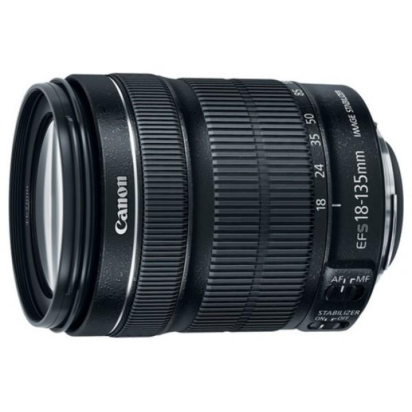 Объектив Canon EF-S 18-135mm f/3.5-5.6 IS STMЗум-объектив общего назначения для владельцев камер EOS с креплением объективов EF-S, для съемки фотографий и видео. Зум-объектив общего назначения 18–135 мм с технологией STM. STM обеспечивает плавную бесшумную автофокусировку для видео, а динамический стабилизатор изображения уменьшает вибрацию при съемке видеоматериалов.<br><br>Вес кг: 0.60000000