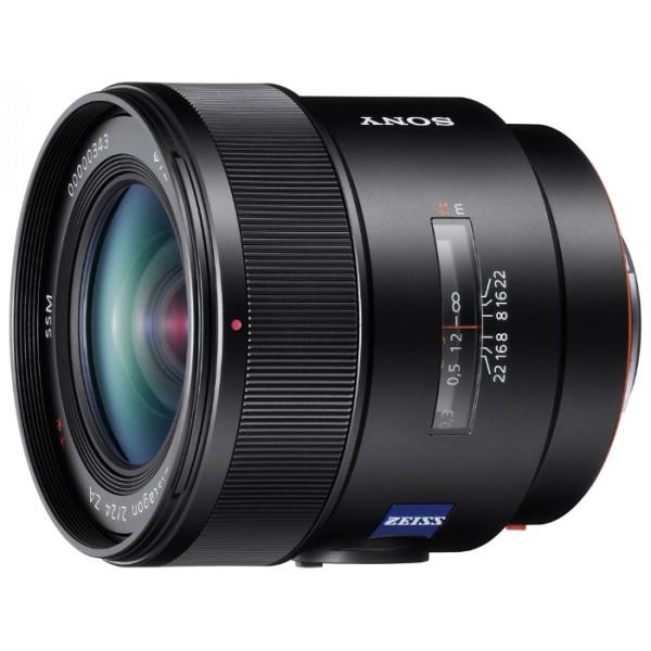 Объектив Sony Carl Zeiss Distagon T* 24mm f/2.0 ZA SSMSony SAL-24F20Z широкоугольный объектив с постоянным ФР, крепление Minolta A, автоматическая фокусировка, минимальное расстояние фокусировки 0.19 м, размеры (DхL): 78x76 мм, вес: 555 г<br><br>Вес кг: 0.60000000