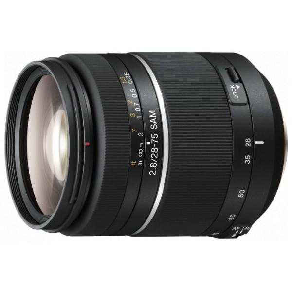 Объектив Sony Minolta AF ZOOM 28-75mm F2.8 (D)Высококачественный светосильный зум-объектив для съемки в широком диапазоне фокусных расстояний от широкоугольного до среднего длиннофокусного. Великолепный результат при установке на цифровых зеркальных фотокамерах с полнокадровой матрицей. Плавный привод автофокусировки (SAM) для плавной работы автофокуса<br><br>Вес кг: 0.60000000