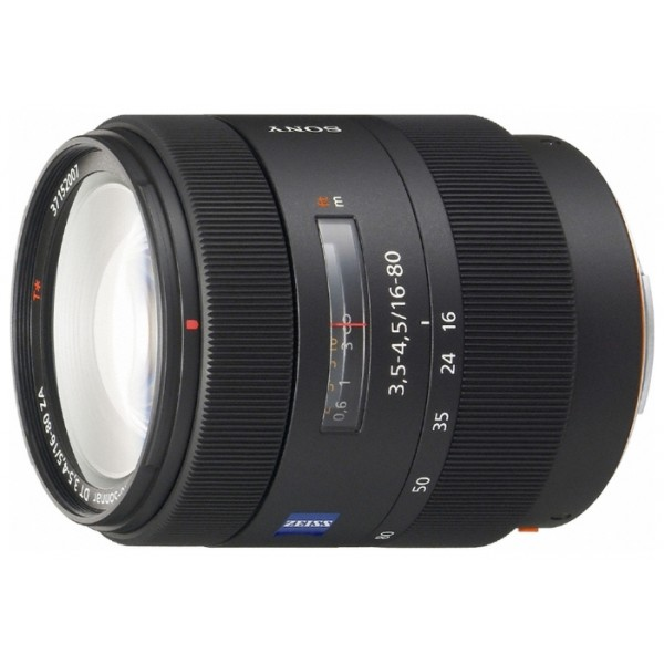 Объектив Sony Carl Zeiss Vario-Sonnar T*16-80mm f/3.5-4.5 ZA DT (SAL-1680Z)Зум-объектив серии DT 16-80 мм F3.5-4.5 ZA Carl Zeiss Vario-Sonnar T*<br><br>Вес кг: 0.50000000