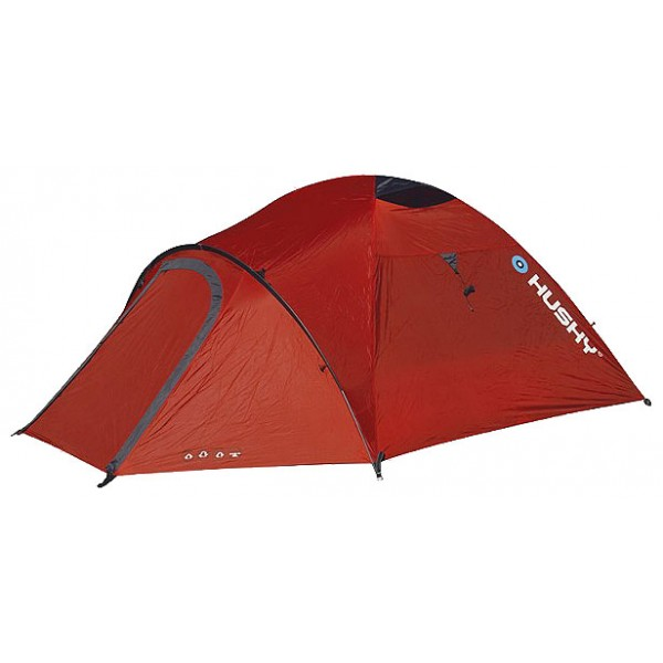 Палатка Husky Baron 4экстремальная палатка, 4-местная, внутренний каркас, алюминиевые дуги, 2 входа / одна комната, высокая водостойкость, вес: 4.5 кг<br><br>Вес кг: 4.50000000