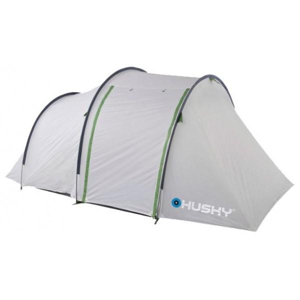 Палатка Husky Bonet 6кемпинговая палатка, 6-местная, внешний каркас, дуги из стеклопластика, 2 входа / 2 комнаты, высокая водостойкость, вес: 12.1 кг<br><br>Вес кг: 12.20000000