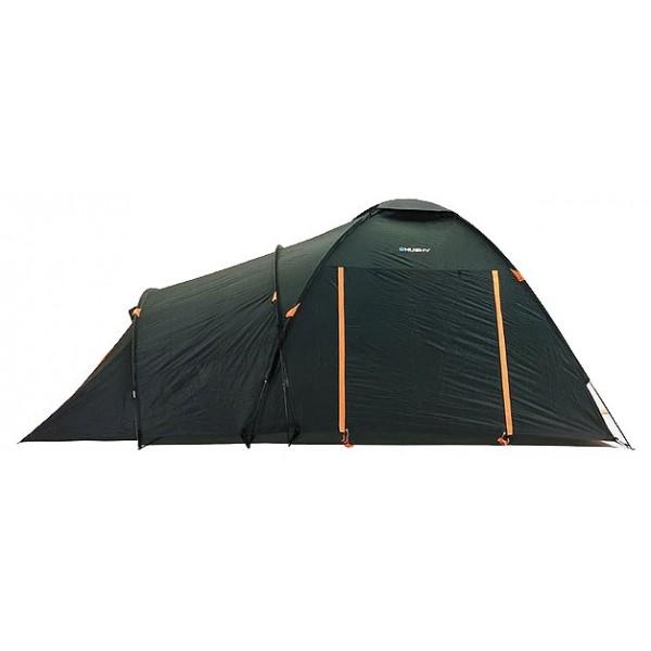 Палатка Husky Boston 5кемпинговая палатка, 5-местная, внешний каркас, дуги из стеклопластика, 3 входа / одна комната, высокая водостойкость, вес: 9.5 кг<br><br>Вес кг: 9.50000000