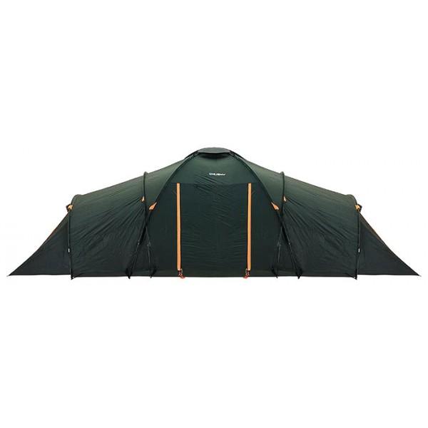 Палатка Husky Boston 8кемпинговая палатка, 8-местная, внешний каркас, дуги из стеклопластика, 4 входа / 2 комнаты, высокая водостойкость, вес: 12.5 кг<br><br>Вес кг: 12.60000000
