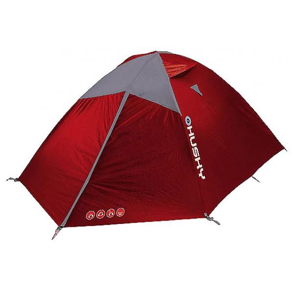 Палатка Husky Bright 4трекинговая палатка, 4-местная, внутренний каркас, алюминиевые дуги, 2 входа / одна комната, высокая водостойкость, вес: 4 кг<br><br>Вес кг: 4.00000000