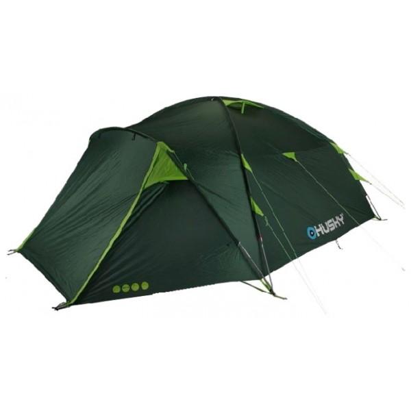 Палатка Husky Brozer 5кемпинговая палатка, 5-местная, внешний каркас, дуги из стеклопластика, 2 входа / одна комната, высокая водостойкость, вес: 9.6 кг<br><br>Вес кг: 9.60000000