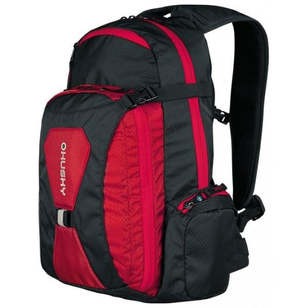 Рюкзак Husky Sharp 13 red/blackунисекс велорюкзак заплечный, мягкий каркас, объем 13 л<br><br>Вес кг: 0.70000000