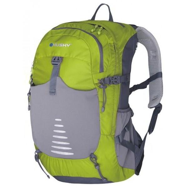 Рюкзак Husky Skid 30 green/greyунисекс трекинговый, анатомическая система, объем 30 л, вывод питьевой системы<br><br>Вес кг: 1.09000000