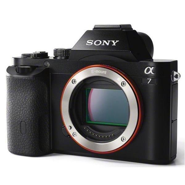 Фотоаппарат Sony Alpha A7 Body со сменной оптикойДелайте снимки с полнокадровой детализацией 24,3 МП с глубокой дефокусировкой. Реагируйте незамедлительно и четко с быстрой гибридной автофокусировкой. Прочная, простая в управлении, подходит для профессионального использования<br>