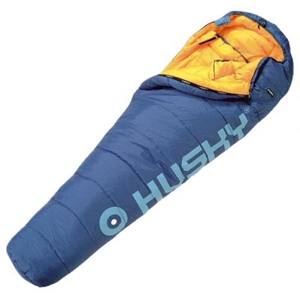 Спальный мешок Husky Huskyспальный мешок-кокон, экстремальный, температура комфорта от -4°С, синтетический наполнитель (2 слоя), утепленная молния, вес 1.76 кг<br><br>Вес кг: 1.76000000