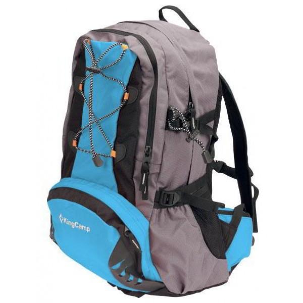 Рюкзак KingCamp Mango 32 blueунисекс городской, анатомическая система, объем 32 л<br>