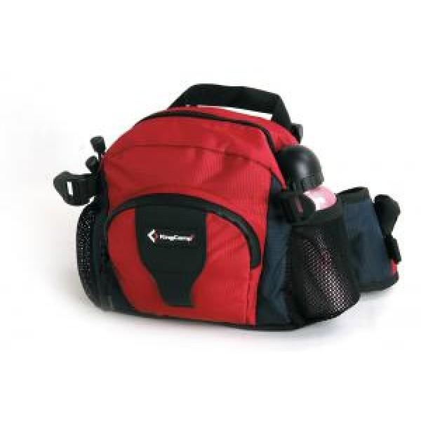 Сумка KingCamp Jordan пояснаяПоясная сумочка на 3 отделения, объём 7 л. Материал: полиэстер. Водостойкие молнии. Три отделения, карман для телефона. Фурнитура ITW<br>