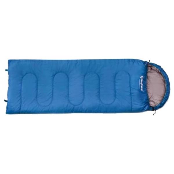 Спальный мешок KingCamp Oasis 250спальный мешок-одеяло, кемпинговый, температура комфорта  от 15°С до 18°С, синтетический наполнитель, состегивание с аналогичным спальником, вес 1.25 кг<br><br>Вес кг: 1.25000000