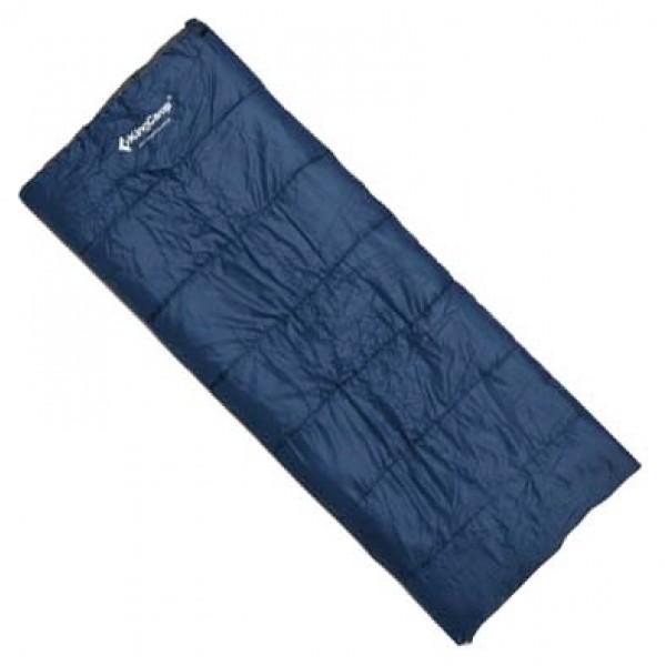 Спальный мешок KingCamp Oxygenспальный мешок-одеяло, кемпинговый, температура комфорта  от 10°С, синтетический наполнитель, состегивание с аналогичным спальником, вес 1.05 кг<br><br>Вес кг: 1.05000000