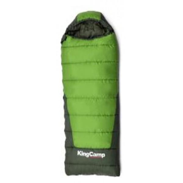 Спальный мешок KingCamp Explorer 300спальный мешок-одеяло, кемпинговый, температура комфорта  от 3°С до 7°С, синтетический наполнитель (2 слоя), вес 1.85 кг<br><br>Вес кг: 1.85000000
