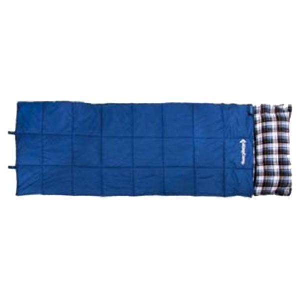 Спальный мешок KingCamp Camper 250спальный мешок-одеяло, трехсезонный, температура комфорта  от 10°С до 15°С, синтетический наполнитель, вес 1.9 кг<br><br>Вес кг: 1.90000000