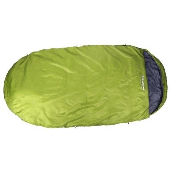 Спальный мешок KingCamp Free Space 250спальный мешок-кокон, кемпинговый, температура комфорта  от 15°С до 18°С, синтетический наполнитель, вес 2.1 кг<br><br>Вес кг: 2.10000000