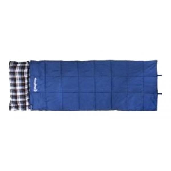 Спальный мешок KingCamp Camper 300спальный мешок-одеяло, трехсезонный, температура комфорта  от 3°С до 8°С, синтетический наполнитель (1 слоя), вес 1.9 кг<br><br>Вес кг: 1.90000000