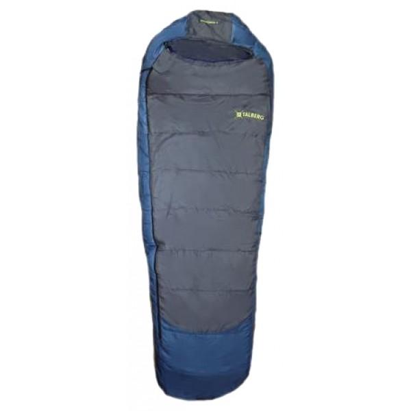 Спальный мешок Talberg Kronsbergспальный мешок-кокон, кемпинговый, температура комфорта  от 10°С до 20°С, синтетический наполнитель, вес 0.92 кг<br><br>Вес кг: 1.00000000