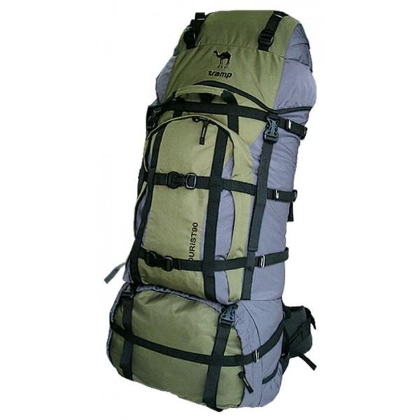 Рюкзак Tramp Tourist 90унисекс трекинговый, анатомическая система, объем 90 л, доступ к основному отделению снизу<br>