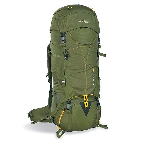 Рюкзак Tatonka Yukon 80 cubВысокотехнологичный рюкзак для продолжительных походов. Регулируемая система подвески V2 оптимально распределяет нагрузку на бедра. Спинка с мягкой подкладкой, обтянутая терморегулирующей сеточкой Airmesh, обеспечивает комфорт и вентиляцию при длительных переходах.<br><br><br>Подвеска V2.<br><br>Регулируемая крышка-клаан.<br><br>Мягкие регулируемые лямки и набедренный пояс.<br><br>Дополнительный доступ в основное отделение.<br><br>Большой передний карман на молнии.<br><br>Боковые карманы.<br><br>Боковые стяжки.<br><br>Ручки для переноски.<br><br>Крепление для ледоруба.<br><br>Дождевой чехол.<br><br>Отделение для питьевой системы.<br><br>Отделение для аптечки.<br><br>Держатель для ключей.<br><br>Вес кг: 3.60000000