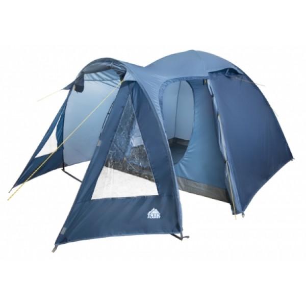 Палатка Trek Planet Tahoe 4 кемпинговаякемпинговая палатка, 4-местная, внутренний каркас, дуги из стеклопластика, 2 входа / одна комната, невысокая водостойкость, вес: 6 кг<br><br>Вес кг: 6.00000000