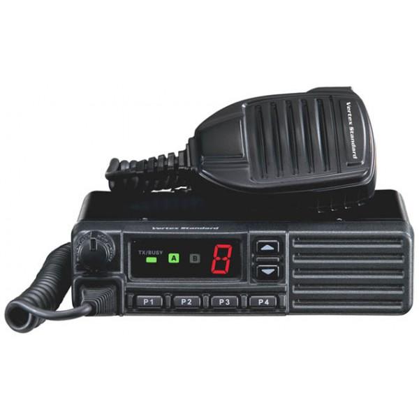 Радиостанция Vertex VX-2100 (136-174/403-407/450-520Mhz) 25-50Вт автоАвтомобильная рация Vertex Standard VX-2100 VHF обладает мощностью до 25 Вт. Возможна установка 8 каналов памяти. Присутствуют различные режимы сканирования - Прослушивание двух каналов (Dual Watch), приоритетный канал ( следящее сканирование) , прослушивание двух каналов с установкой одного как приоритетного, частотное сканирование Возможна работа с ретрансляторами. Присутствует функция Прямой канал, позволяющая связываться с другими радиостанциями без использования ретранслятора. На однострочном дисплее отображается номер канала, активация передачи и индикаторы сообщающие о состоянии радиостанции Vertex Standard VX-2100. На каждую из 6 кнопок могут быть установлены любые функции радиостанции, что позволяет настроить устройство для комфортной работы. Соответствует военному стандарту MilStd 810 C/D/E/F. Модель Vertex Standard VX-2100 проходила испытания на высокие и низкие температуры, воздействия вибрации и падений, а также на проникновение пыли и грязи. Также рация Vertex Standard VX-2100 поддерживает 2- и 5- тоновые коды, ARTS ( нахождение рации в радиусе действия ), Аварийные сигналы и клонирование настроек с помощью специального кабеля.<br><br>Вес кг: 1.40000000