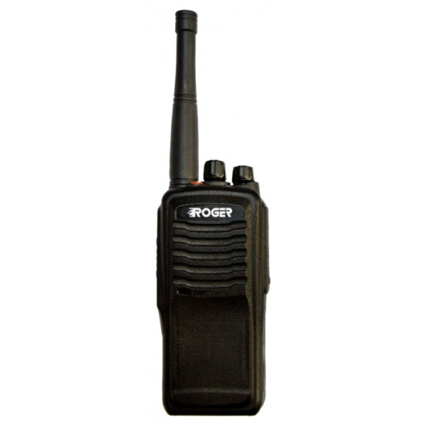 Радиостанция Roger KP-50 портативнаярация UHF, мощность передатчика 8 Вт, питание Li-Ion-аккумулятор, вес 246 г, количество каналов 16, кодирование CTCSS, DCS, подключение гарнитуры<br><br>Вес кг: 0.35000000