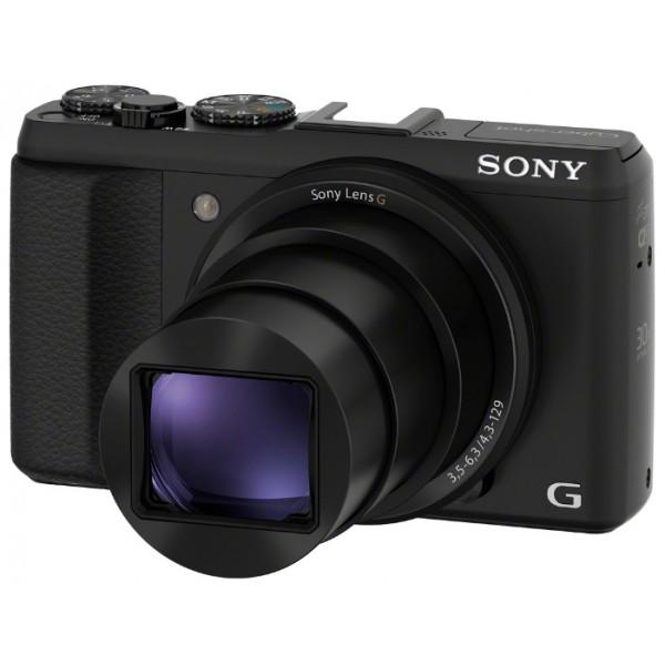 Фотоаппарат Sony Cyber-shot DSC-HX50 компактныйкомпактная фотокамера, матрица 21.1 МП (1/2.3), съемка видео Full HD, оптический зум 30x, экран 3, Wi-Fi, вес камеры 272 г<br><br>Вес кг: 0.30000000