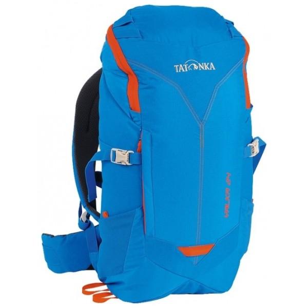 Рюкзак Tatonka Yalka 24 bright blueУдобный рюкзак с верхней загрузкой. Несущая система X Vent Zero обеспечивает максимальную вентиляцию даже в жаркую погоду.<br><br>Несущая система X Vent Zero<br>Регулируемый нагрудный ремень<br>S-образные плечевые лямки<br>Мягкий набедренный ремень<br>Боковые утягивающие ремни<br>Дождевой чехол в комплекте<br>Выход для питьевой системы<br>Боковые сетчатые карманы<br>Петли на крышке рюкзака<br><br>Вес кг: 1.00000000