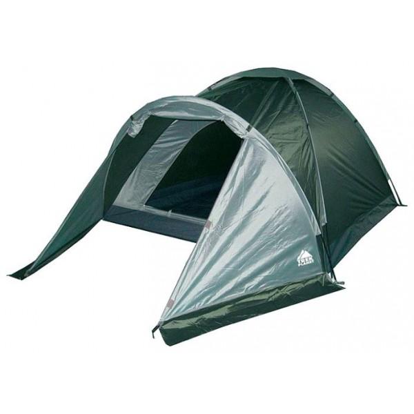 Палатка Trek Planet Toronto 3 трекинговаяТрехместная туристическая палатка с тамбуром Trek Planet Toronto 3 легкая и быстрая в установке. Хорошо вентилируется, имеет тамбур для вещей, защитит от дождя и ветра. Предназначена для непродолжительных походов и организации выходного дня.<br><br><br>Палатка легко и быстро устанавливается,<br><br>Палатка оснащена вместительным и защищенным от непогоды тамбуром,<br><br>Тент палатки из полиэстера, с пропиткой PU водостойкостью 1000 мм, надежно защитит от дождя и ветра,<br><br>Все швы проклеены, Каркас выполнен из прочного стекловолокна,<br><br>Дно изготовлено из прочного армированного полиэтилена,<br><br>Вентиляционное окно сверху палатки не дает скапливаться конденсату на стенках палатки,<br><br>Москитная сетка на входе в спальное отделение в полный размер двери,<br><br>Удобная D-образная дверь на входе в палатку,<br><br>Внутренние карманы для мелочей,<br><br>Возможность подвески фонаря в палатке.<br><br>Для удобства транспортировки и хранения предусмотрен чехол с двумя ручками, закрывающийся на застежку-молнию.<br><br>Вес кг: 2.90000000