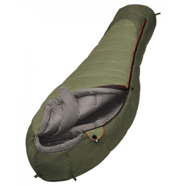 Спальный мешок Alexika AleutОтличный спальный мешок ALEXIKA ALEUT предназначен для использования в холодных местностях. Если вы собрались в горы, или же просто в поход в зимнее время года, то этот туристический спальник непременно вам пригодится. Благодаря особому утеплителю APF–Isoterm 3D, плотностью 650 г/м2 вам обеспечен комфорт даже при температуре в минус 14 градусов. Критической для данной модели спальника является температура в минус 32 градуса. Специальное покрытие PU 250 мм Н2О является отличной защитой от проникновения влаги и ветра. Верхняя ткань мешка обладает хорошими «дышащими свойствами», неплохо вентилирую воздух внутри мешка.<br><br>К числу достоинств спальника ALEUT можно также отнести специальный воротник, который расширяется в зоне плеч, плотно прилегает к телу, тем самым не давая холодному воздуху проникнуть внутрь мешка. Анатомический капюшон стал одной из особенностей спальных мешков компании Alexika в сочетании с валиком вокруг лица. Молния обладает люминесцентным эффектом, а также снабжена специальной полоской, предохраняющей её от «закусывания». Внутри капюшона есть отделение для подушки, или же для любой другой вещи, которую вы хотите положить себе под голову. Если вас заинтересовала данная модель, и ваш рост менее 175 см, то советуем также обратить внимание на аналогичную, но более легкую модель ALEXIKA ALEUT COMPACT. Смотрите также другие спальники Alexika.<br><br>Вес кг: 3.20000000