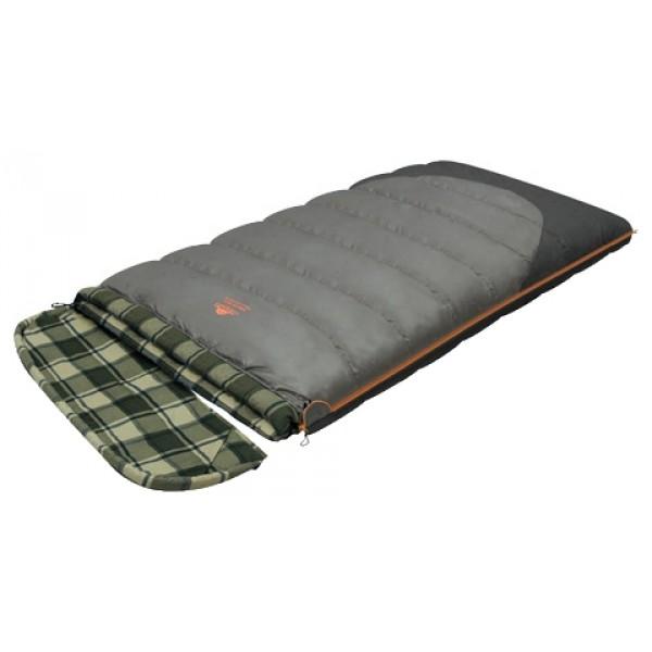 Спальный мешок Alexika Siberia Wide TransformerКачественный спальный мешок-трансформер SIBERIA WIDE TRANSFORMER от Alexika – идеальный вариант для ночевки в кемпинге. Он наилучшим образом подойдет для отдыха как весной, так и осенью. Спальник легко превращается в полноценное двуспальное одеяло, а также имеет отстегивающийся капюшон. Спальный мешок сделан из качественного материала с двухслойным силиконовым наполнителем, который прекрасно удерживает тепло и сохраняет форму после стирки. Наполнитель отличается повышенной устойчивостью к впитыванию запахов и влаги, а также нетоксичностью и негорючестью. Внутри мешок отделан приятной телу фланелевой подкладкой. Сохранить тепло в холодные ночи помогает и ватный валик, которым оторочен мешок по периметру. Он служит защитой от ветра и холодного воздуха, поступающего через молнию.<br><br>Спальник SIBERIA WIDE TRANSFORMER застегивается на крепкую молнию с замком и люминесцентным бегунком, который позволяет легко находить мешок в темноте. С помощью молний по бокам к мешку можно пристегнуть другой спальник, что дает возможность увеличить площадь одеяла. Вдоль молнии имеется лента, предотвращающая заедание замка. Для хранения личных вещей внутри спальника предусмотрен сетчатый карман. Модель имеет петли для просушки мешка.<br><br>Вес кг: 3.00000000