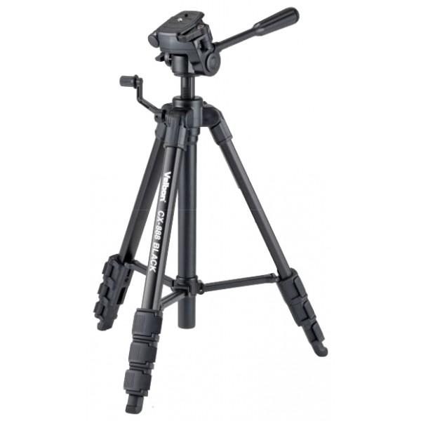 Velbon CX-888напольный трипод, для фотокамер, максимальная высота 154 см, 3D-головка, нагрузка до 3 кг, вес: 1.3 кг<br><br>Вес кг: 1.30000000