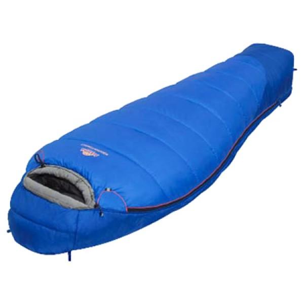 Спальный мешок Alexika Mountain ScoutAlexika Mountain Scout спальный мешок-кокон, трехсезонный, температура комфорта от -2°С до 3°С, синтетический наполнитель (2 слоя), состегивание с аналогичным спальником, вес 1.4 кг<br><br>Вес кг: 1.60000000