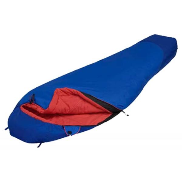 Спальный мешок Alexika TravelAlexika Travel - спальный мешок-кокон, трехсезонный, температура комфорта от 6°С до 9°С, синтетический наполнитель (1 слоя), вес 1.1 кг<br><br>Вес кг: 1.10000000
