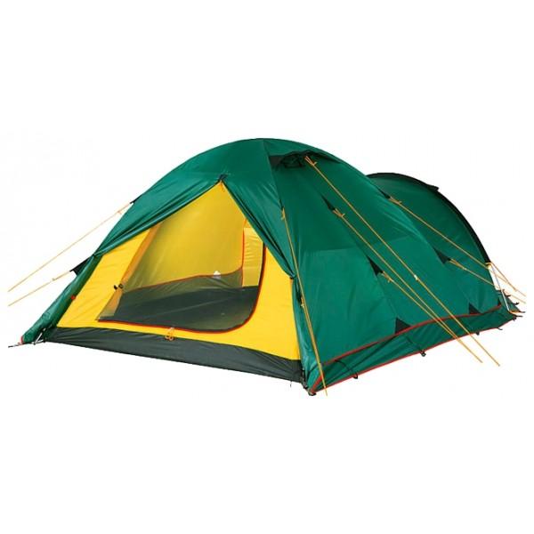 Палатка Alexika Tower 4 PlusTower 4 Plus это вариант популярной модели Tower 4. Отличается наличием юбки по периметру тента, что позволяет использовать палатку в условиях сильного ветра и длительной непогоды. Tower 4 Plus – трекинговая четырехместная двухслойная палатка, идеально подходящая для туристов, путешествующих на велосипедах. Вместительный тамбур позволяет укрыть не только велосипеды, но и объемный груз, а также все походные вещи и обувь. Особенность Tower 4 Plus в том, что в ней имеется сразу три входа. Это очень удобно в тех случаях, когда оба тамбура заполнены или не хочется беспокоить спящих – хотя бы один из входов/выходов, скорее всего, будет доступен.<br><br>Прочная ткань в ответственных узлах палатки, испытывающих большие нагрузки, обеспечивает долгие годы использования палатки без потери качества. Все швы Tower 4 Plus обработаны герметизирующей термоусадочной лентой. Ткань палатки пропитана составом, препятствующим распространению огня. По всему периметру проходит юбка, защищающая от ветра.<br><br>Во внутренней палатке вы найдете шесть карманов и полочку для небольших предметов. Чтение любимой книги в темное время суток не станет большой проблемой – фонарик вешается на специально предусмотренный для этого крюк и обе руки будут свободны для перелистывания страниц. А от назойливых комаров и мух вас надежно защитит противомоскитная сетка.<br><br>Вес кг: 5.60000000
