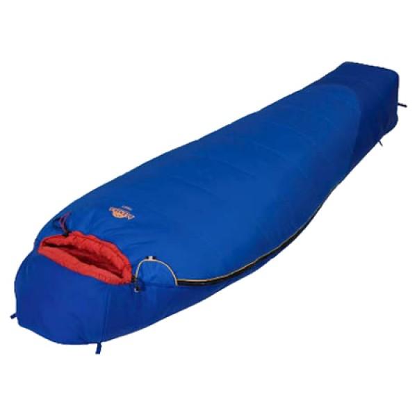 Спальный мешок Alexika TibetAlexika Tibet - спальный мешок-кокон, трехсезонный, температура комфорта от -2°С до 3°С, синтетический наполнитель (2 слоя), состегивание с аналогичным спальником, вес 1.6 кг<br><br>Вес кг: 1.70000000