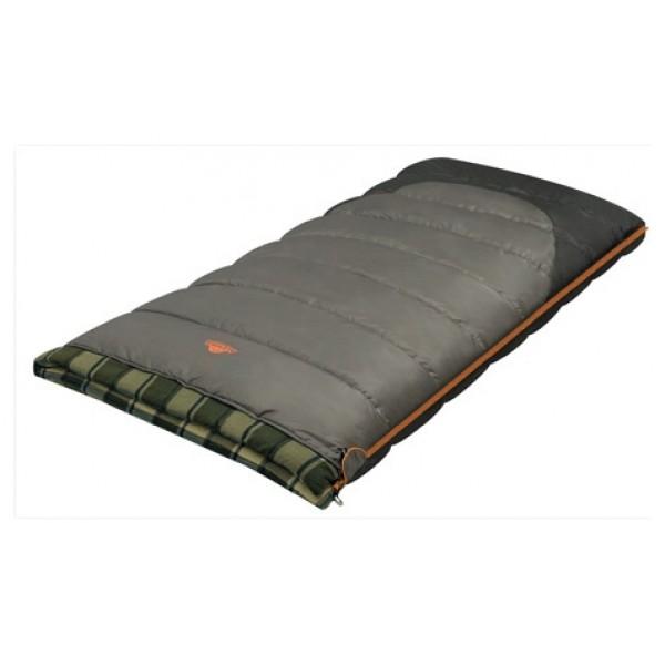Спальный мешок Alexika Siberia WideКомфортный спальник-одеяло SIBERIA WIDE увеличенной ширины - лучшее решение для туристов, которые во время путешествия останавливаются в кемпингах либо ночуют в палатках, подвергающимся порывам ветра и непогоде. Этот спальник сшит из высокотехнологичных материалов, благодаря чему спящий турист не отдает тепло своего тела наружу. Инновационный утеплитель APF-Isoterm 3D, разработанный специально для туристической отрасли, позволяет путешественнику спать комфортно и в тепле даже при температуре 8°С. Преимущество модели SIBERIA WIDE заключается в возможности трансформации спальника в комфортное теплое одеяло шириной два метра. Эта модель, кстати, будет идеальным вариантом для туристов, предпочитающих ночевать в машине.<br><br>Главное преимущество спальника-одеяла этой модели – его значительный размер (195x100 см). С учетом этого параметра можно говорить, что данный спальный мешок - идеальное приобретение для любителей вылазок на природу высокого роста. Спальник просто незаменим во время ночевки в палатках весной, а при осенних путешествиях даже в случае ночных заморозков туристы будут защищены от переохлаждения организма. В летний период во время длительного путешествия по южным регионам спальник-одеяло SIBERIA WIDE можно использовать в качестве мягкого матраса.<br><br>Вес кг: 2.50000000