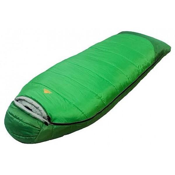 Спальный мешок Alexika ForesterAlexika Forester спальный мешок-кокон, трехсезонный, температура комфорта от -1°С до 4°С, синтетический наполнитель (2 слоя), утепленная молния, состегивание с аналогичным спальником, вес 2.6 кг<br><br>Вес кг: 2.60000000