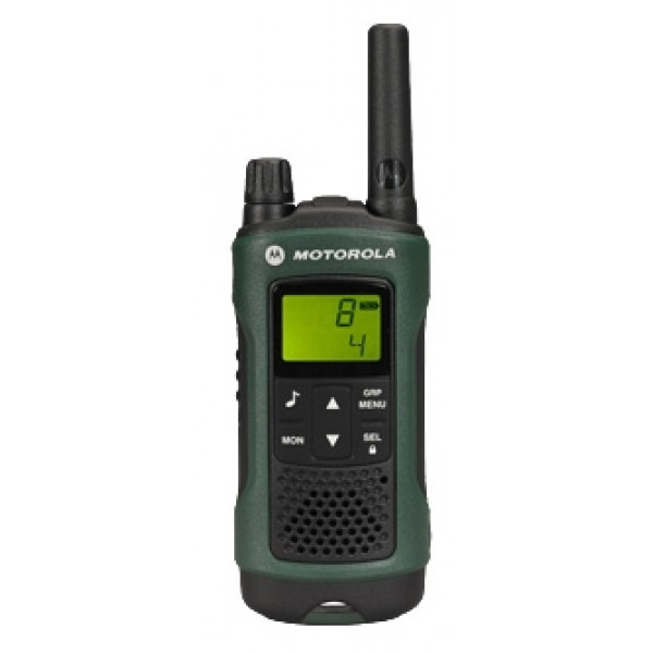 Радиостанция Motorola TLKR-T81 Hunter в кейсерация PMR, мощность передатчика 0.5 Вт, радиус действия 10 км, количество каналов 8, подключение гарнитуры<br>