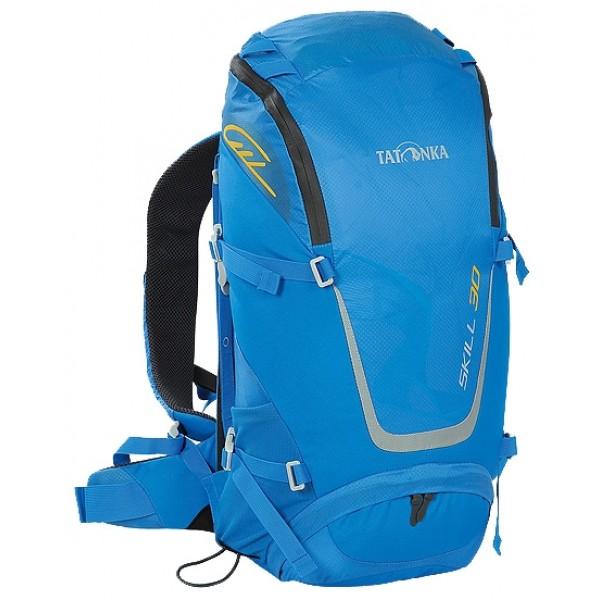 Рюкзак Tatonka Skill 30 bright blueунисекс трекинговый, анатомическая система, объем 30 л, вывод питьевой системы<br><br>Вес кг: 1.00000000