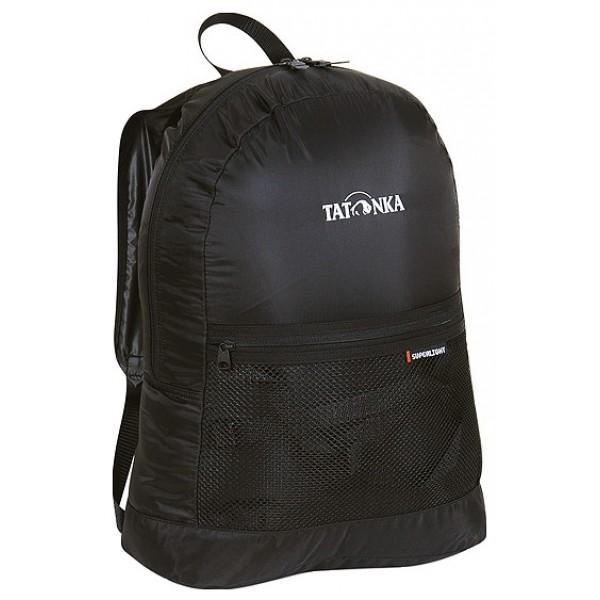 Рюкзак Tatonka Superlight blackунисекс городской, мягкий каркас, объем 18 л<br><br>Вес кг: 3.50000000