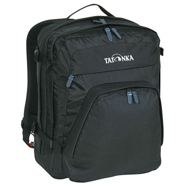 Рюкзак Tatonka Marvin 19 blackКлассический компактный офисный рюкзак с отделением для ноутбука и органайзером. Отличается наличием многочисленных отделений и карманов, предназначенных для размещения всех офисных принадлежностей. Спинка и лямки покрыты комфортным материалом AirMesh. Съемный поясной и нагрудный ремни обеспечивают дополнительную фиксацию рюкзака.<br><br><br>Подвеска Padded Back.<br><br>Лямки и спинка обтянуты сеточкой AirMesh.<br><br>Мягкое отделение для ноутбука 15.<br><br>Органайзер.<br><br>Накладной передний карман.<br><br>Отделение для документов.<br><br>Держатель для ключей.<br><br>Дно с мягкой подкладкой.<br><br>Съемный поясной ремень.<br>